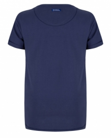 Indian Blue Jeans t-shirt donker blauw