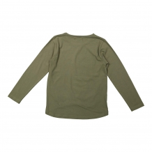 DJ Dutch longsleeve lion army green/gold