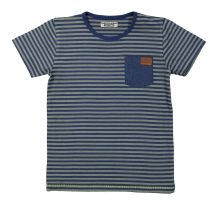 DJ Dutch Jeans T-Shirt stripe blue army green