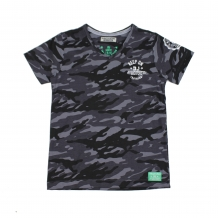 DJ Dutch T-Shirt zwart camouflage