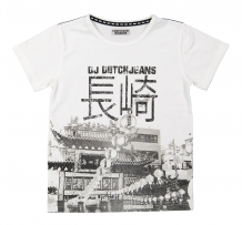 DJ Dutch Jeans T-Shirt  white