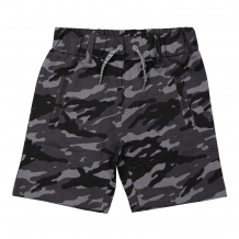 DJ Dutch Short black camouflage