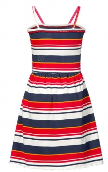 Chaos and order meisjesjurk Rody Red Stripe