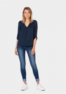 Tiffosi damesblouse navy