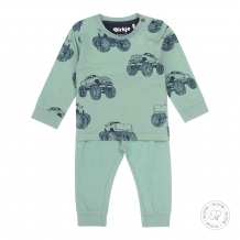 Dirkje babywear pyjama monstertruck 100% biokatoen
