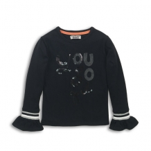 DJ Dutchjeans girls longsleeve black