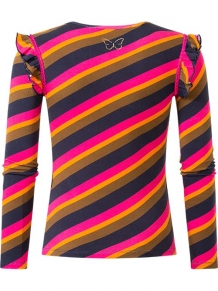 Chaos and order longsleeve Pippa Stripe