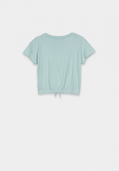 Tiffosi cropped T-Shirt groen  Chill Out
