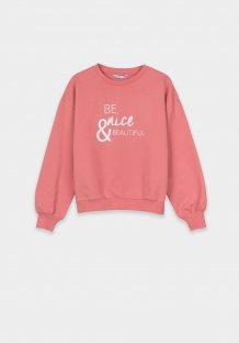 Tiffosi girls sweater pink