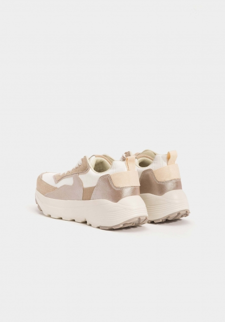 Tiffosi sneakers wit/beige